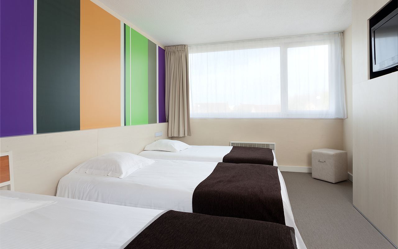 The Triple Rooms of the Quality Hotel